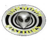 Alien Unknown Visitors Belt Buckle with display stand